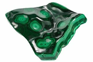 "Buy 3.8"" Polished Malachite Specimen - Congo - #125812"