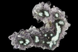 "1.8"" Amethyst Stalactite Slice - Uruguay For Sale, #126857"
