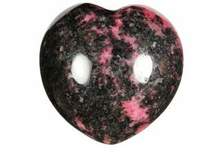 Rhodonite with Manganese Oxide - Fossils For Sale - #126759