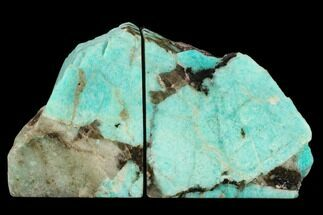 Microcline var. Amazonite & Quartz var. Smoky - Fossils For Sale - #129864