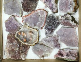 Buy Wholesale Lot - Morocco Amethyst Clusters - 25 Pieces - #133690