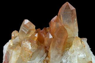Quartz with Iron Oxide - Fossils For Sale - #134226