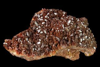 Vanadinite & Barite - Fossils For Sale - #134703