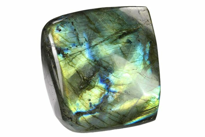 "3.4"" Flashy Polished Labradorite Free Form - Madagascar"