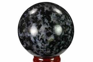 "Buy 2.25"" Polished, Indigo Gabbro Sphere - Madagascar - #135775"