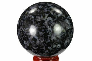 "2.4"" Polished, Indigo Gabbro Sphere - Madagascar For Sale, #135785"