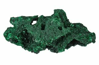"3.8"" Silky Fibrous Malachite Cluster - Congo For Sale, #138668"