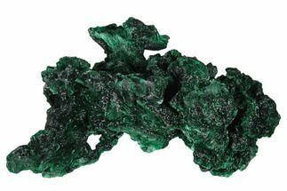 "3.1"" Silky Fibrous Malachite Cluster - Congo For Sale, #138656"