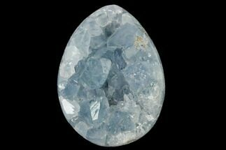 "Buy 2.2"" Crystal Filled Celestine (Celestite) ""Egg"" Geode - Madagascar - #140302"