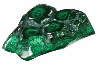 "Buy 4.4"" Polished Malachite Specimen - Congo - #140251"