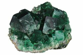 "2.3"" Fluorite Crystal Cluster -  Rogerley Mine For Sale, #143054"