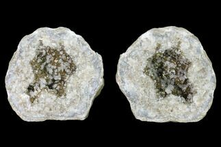 "Buy 4.6"" Keokuk Calcite Geode with Iridescent Chalcopyrite - Missouri - #144727"