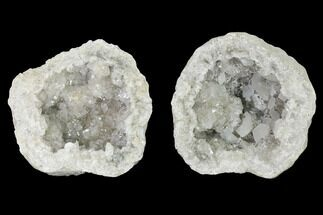 Quartz, Calcite & Pyrite - Fossils For Sale - #144729