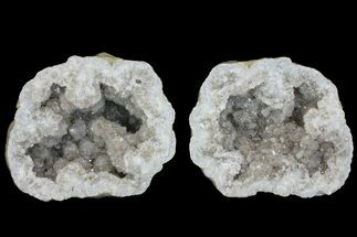 "7.8"" Keokuk Quartz Geode with Calcite & Pyrite Crystals - Missouri For Sale, #144773"