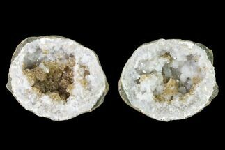 "Buy 2.3"" Keokuk Quartz Geode with Calcite Crystals - Iowa - #144697"