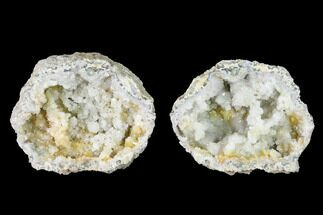 "Buy 2.5"" Keokuk Quartz Geode with Pyrite Crystals - Iowa - #144700"