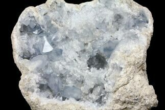 "10.4"" Celestine (Celestite) Geode (19.3 Lbs) - Madagascar For Sale, #144689"