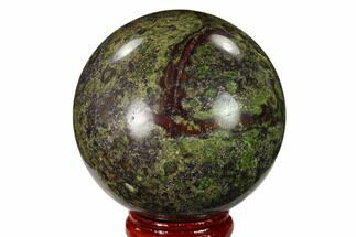 "Buy 2.2"" Polished Dragon's Blood Jasper Sphere - South Africa - #146068"