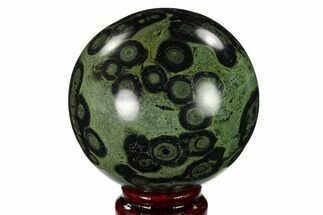 "3.2"" Polished Kambaba Jasper Sphere - Madagascar For Sale, #146060"