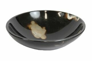 "2.8"" Polished Sulemani Agate Bowl For Sale, #147800"