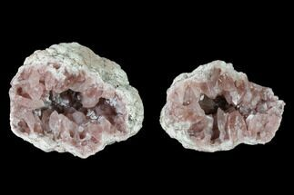 Quartz var. Pink Amethyst - Fossils For Sale - #147939