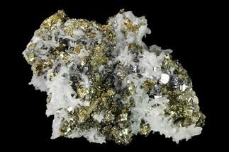 "Buy 2.7"" Pyrite, Galena, Fluorite and Quartz Association - Peru - #149593"