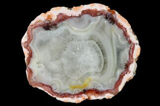 "3.4"" Polished Berber Agate Nodule Half - Morocco For Sale, #150560"