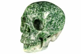 "3"" Realistic, Polished Hamine Jasper Skull For Sale, #151004"