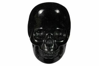 "Buy 2"" Polished Obsidian Skulls - Mexico - #151381"