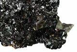 "Lustrous, 3.8"" Sphalerite, Calcite and Dolomite - Elmwood Mine - #153324-1"