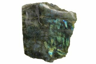 "5.7"" Tall, Free-Standing, Iridescent Labradorite - Madagascar For Sale, #152690"