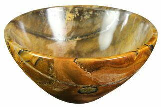 "Buy 2.9"" Polished Tiger's Eye Bowl - #153184"