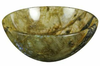 "3.1"" Polished, Labradorite Bowl For Sale, #153263"