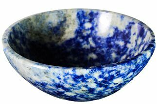 "3.1"" Polished Lapis Lazuli Bowl - Pakistan For Sale, #153254"