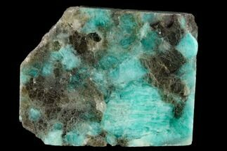 "Buy 2.3"" Wide, Polished Amazonite Slab - Madagascar - #152188"