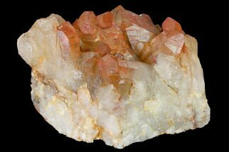 "4.1"" Natural, Red Quartz Crystal Cluster - Morocco For Sale, #153767"
