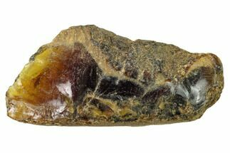 "2.85"" Rough Blue Indonesian Amber - West Java, Indonesia For Sale, #154907"
