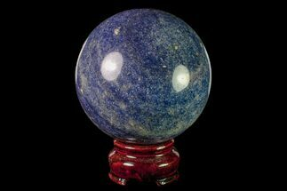 "2.9"" Polished Dumortierite Sphere - Madagascar For Sale, #157670"