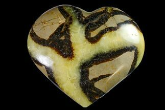 "Buy 3.6"" Polished Septarian Heart - Madagascar - #156661"