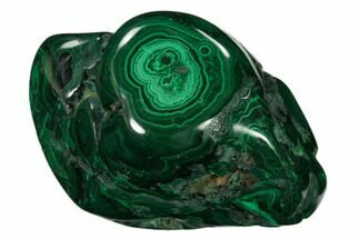 "Buy 2.5"" Beautiful, Polished Malachite Specimen - Congo - #159805"