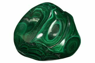 "1.9"" Beautiful, Polished Malachite Specimen - Congo For Sale, #159812"