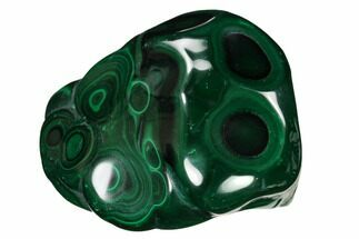"Buy 3.2"" Beautiful, Polished Malachite Specimen - Congo - #159877"
