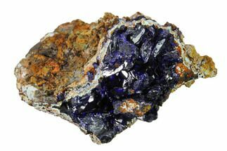 Azurite & Chrysocolla - Fossils For Sale - #162582