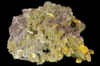 Wulfenite, Barite & Mimetite - Fossils For Sale - #163155