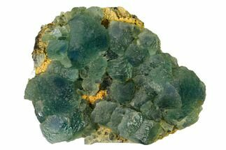 "4.1"" Stepped Green Fluorite Crystals on Quartz - China For Sale, #163169"