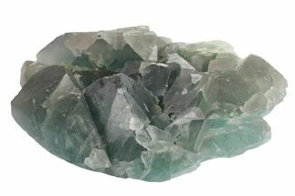 "Buy 4.7"" Green Cubic Fluorite Crystal Cluster - China - #163234"