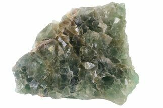 "4.9"" Green Cubic Fluorite Crystal Cluster - China For Sale, #163553"