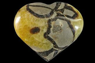 "Buy 4.1"" Polished Septarian Heart - Madagascar - #156667"
