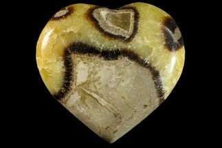 "Buy 3.1"" Polished Septarian Heart - Madagascar - #156676"