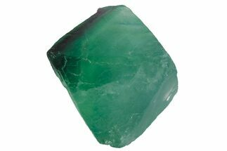 "1.4"" Green and Purple Banded Fluorite Octahedron - China For Sale, #164594"